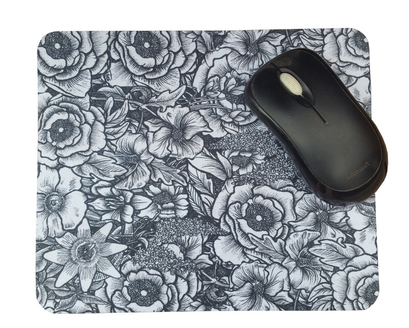 Summer Flowers Mouse Mat