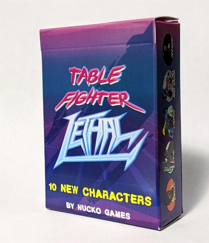 Expansion Set 1: Table Fighter LETHAL