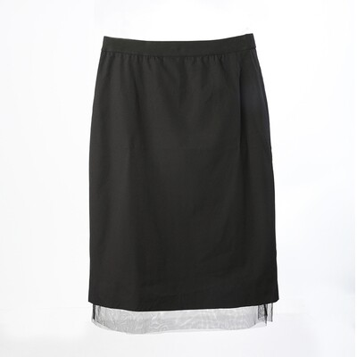 Tulle Layered Reversible Skirt