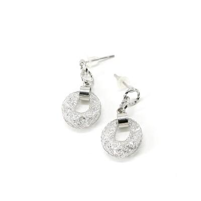 Grey Stardust Earrings