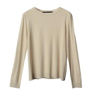 Pointelle Sleeve Sweater