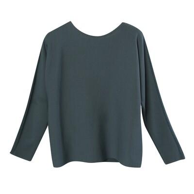 Chenille Yarn Blocking Batwing Sweater