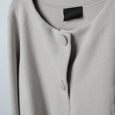 Chenille Yarn Blocking Little Knitted Jacket
