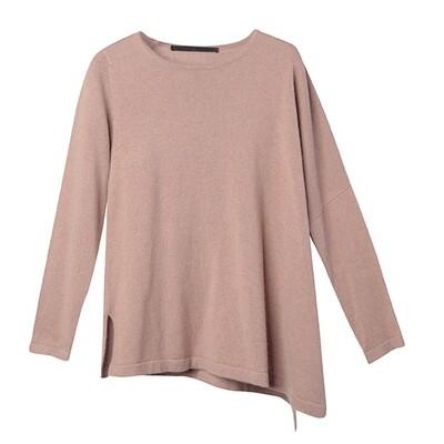 Angora Boxy Sweater - Brush