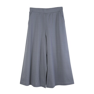 Classic Relaxed Culottes-INK