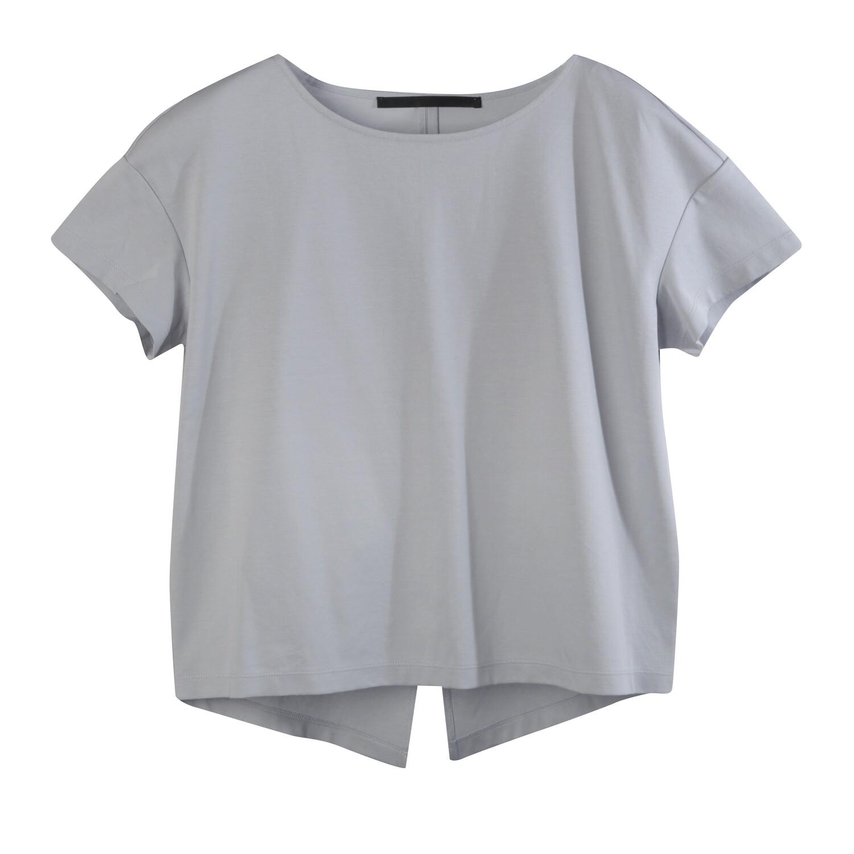 Back Slit Medium Weight Chintz Cotton Top-STEAM
