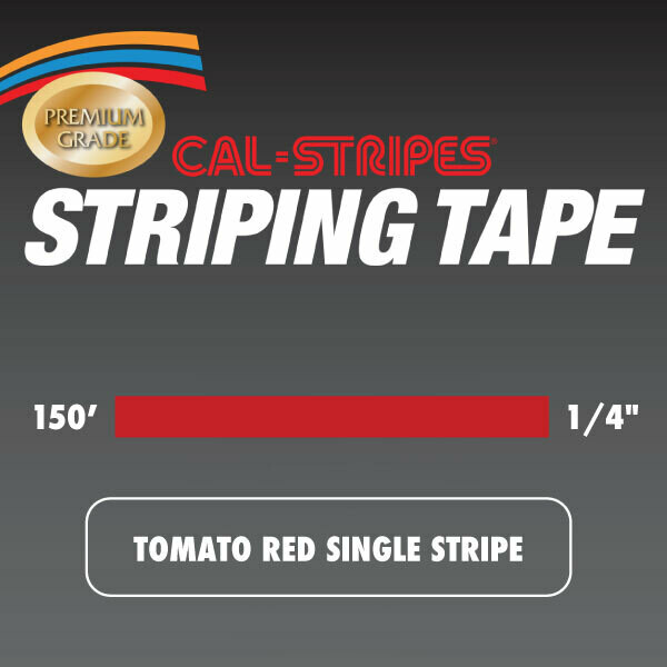 Tomato Single Stripe 1/4