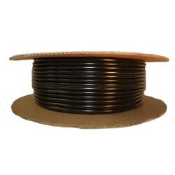 Cowles®37-601 Black Half Round Molding 3/8