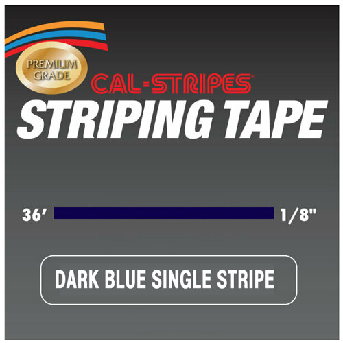 Cal-Stripes® Dark Blue Single Pinstriping Tape 1/8