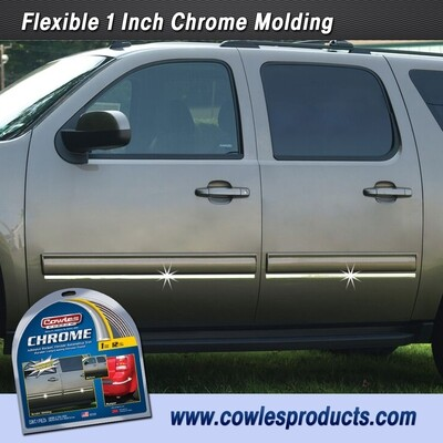 Cowles® S37205 Custom Chrome Body Molding Trim 1