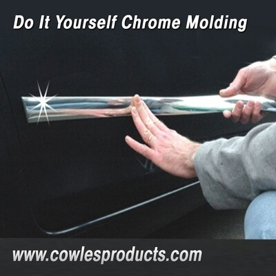 Cowles® S37754 Custom Chrome Body Molding 1 3/8