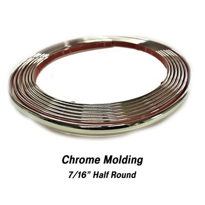 Cowles® 37-530 Custom Chrome Molding Trim 7/16