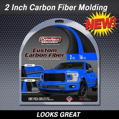 Cowles® S38905 5D Carbon Fiber Style Molding 2