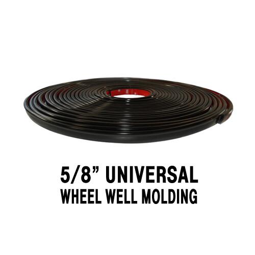 Cowles® 37-1321 Black Wheel Well Molding 5/8