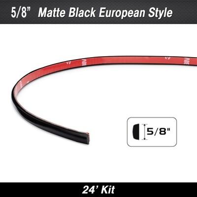 Cowles® 33-302-01 Matte Black European Molding 5/8