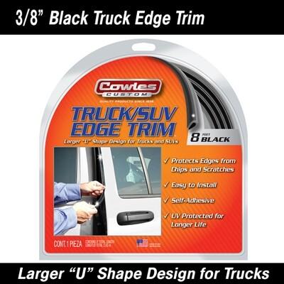 Cowles® S37203 Black Truck Door Edge Guard Trim 8 Feet