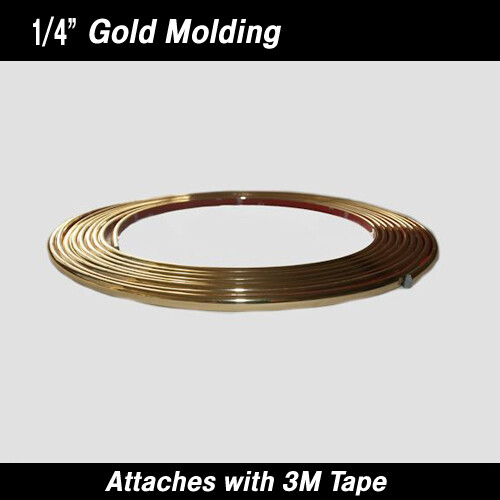 Cowles® 37-732 Gold Half Round Molding 1/4