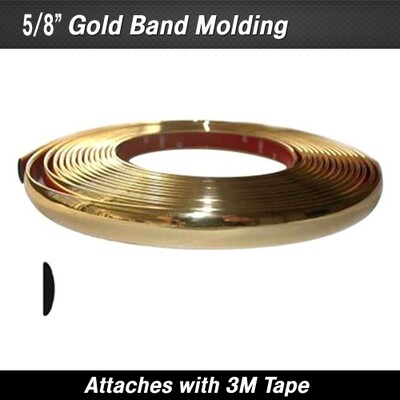 Cowles® 37-833 Gold Band Wheel Well Molding 5/8