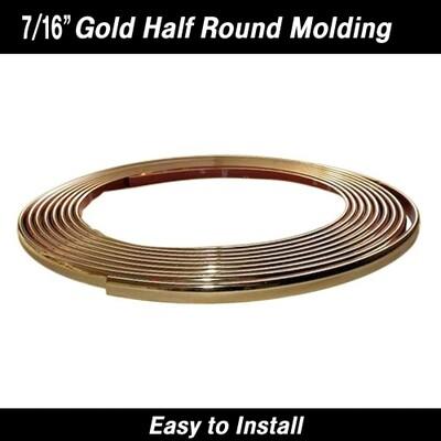 Cowles® 37-533 Gold Chrome Molding Trim 7/16