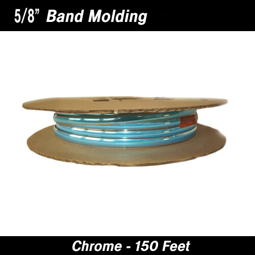 Cowles® 37-815 Chrome Band Wheel Well Molding 5/8