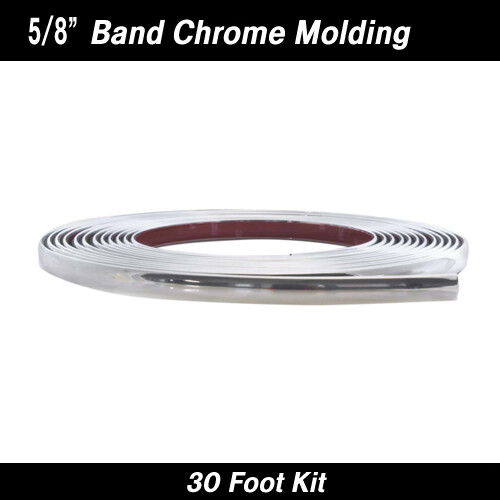 Cowles® 37-830 Chrome Band Wheel Well Molding 5/8