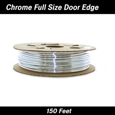 Cowles® 39-200  Full Size Chrome Door Edge Guard 150'