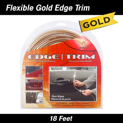 Cowles® T5617  Gold U Channel Edge Trim 18'