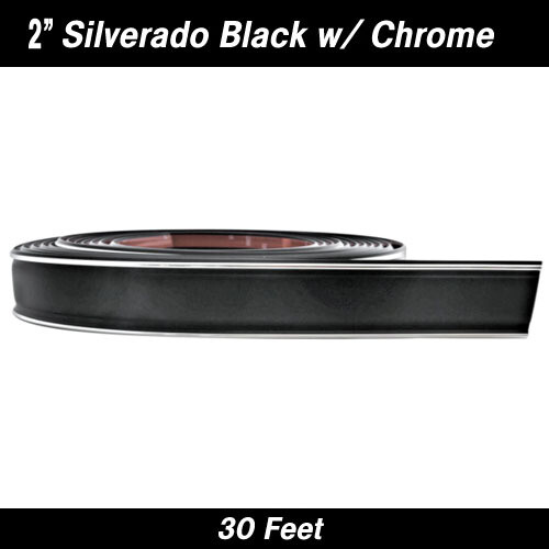 Cowles® 33-172 Custom Silverado Black w/ Chrome 2