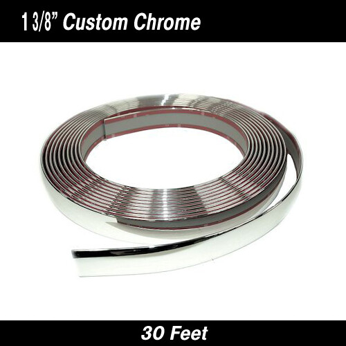 Cowles® 37-060 Custom Chrome Body Molding 1 3/8