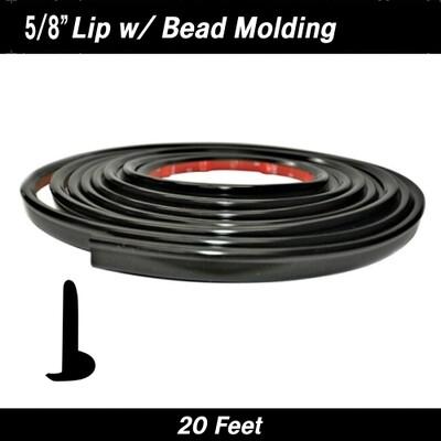 Cowles® 37-343 Black Lip w/ Bead Wheel Well Molding 5/8