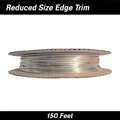 Cowles® 39-300 Chrome Reduced Size Edge Trim 150 Feet