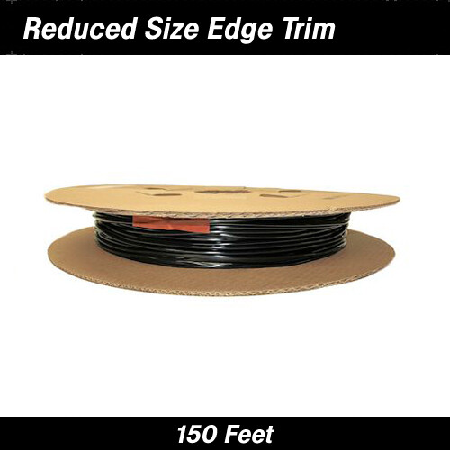 Cowles® 39-301 Black Reduced Size Edge Trim 150 Feet
