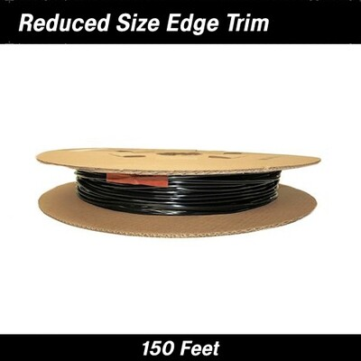 Cowles® 39-301 Black Reduced Size Edge Trim 150 Feet