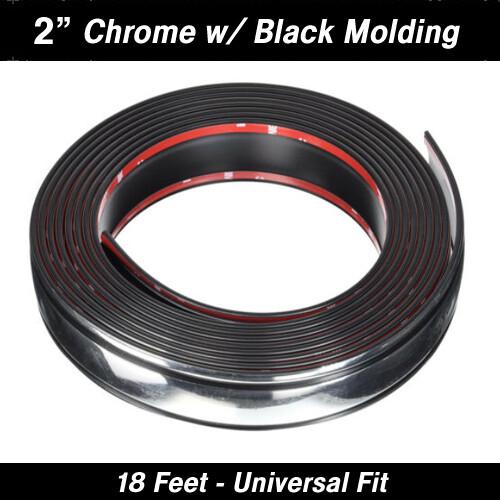 Cowles®T4805C Chrome w/Black Molding 2