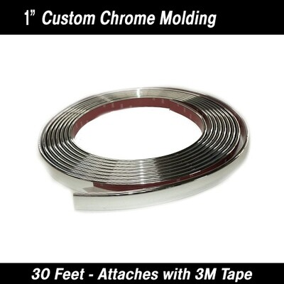Cowles® 37-314 Custom Chrome Body Molding Trim 1