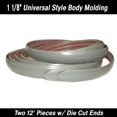 Cowles® Silver Universal Body Molding  1 1/8