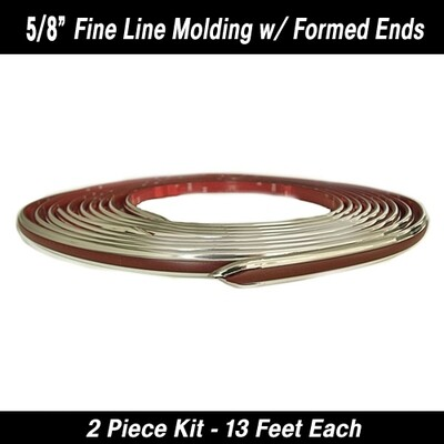 Cowles® 25-530-06 Maroon Fine Line w/ Ends 5/8