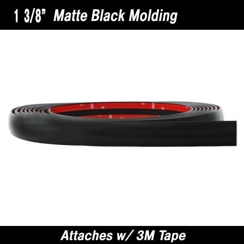 Cowles®38-424 Matte Black Molding 1 3/8