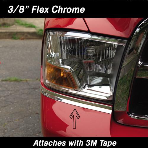 Cowles® 37-794 Flex Chrome Molding 3/8