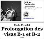Extension visa B-1 et B-2