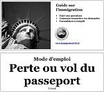 Perte ou vol du passeport