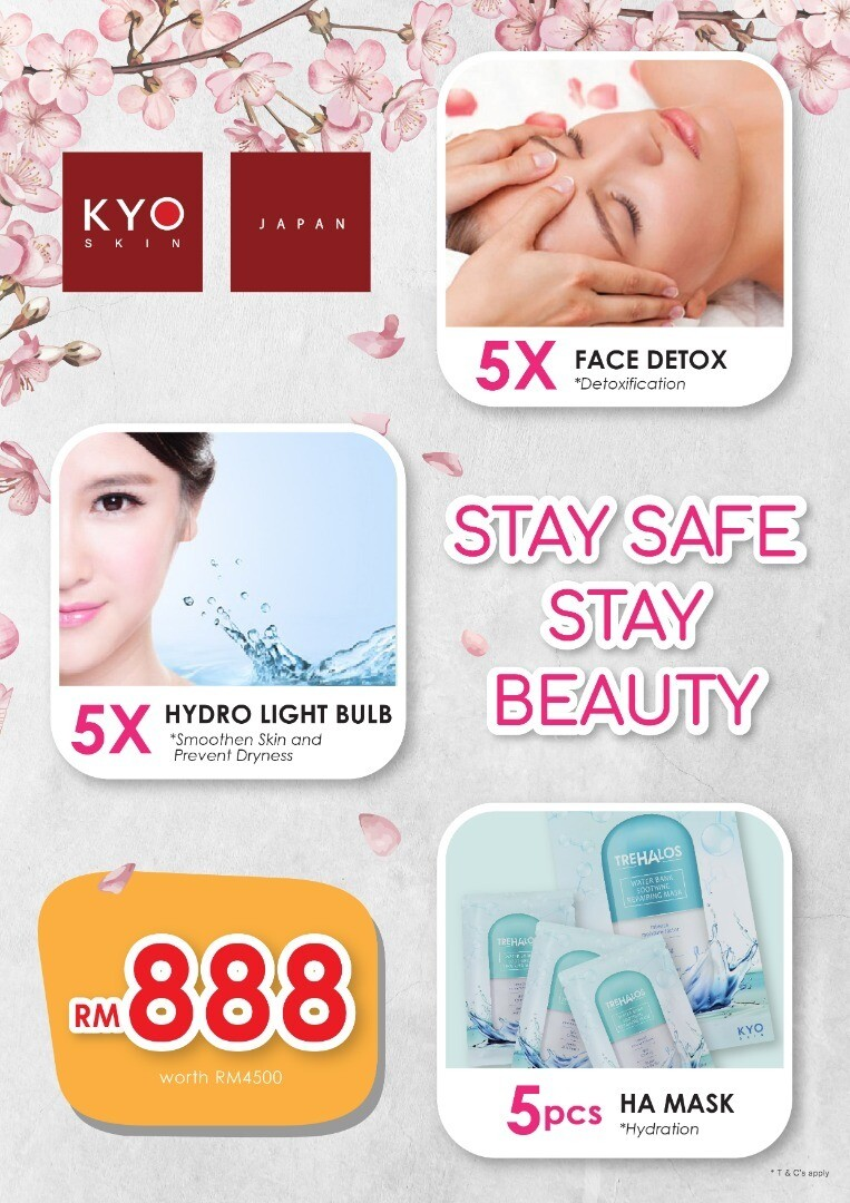 MCO 2.0 : 5 x Face Detox + 5 x Hydro Light Bulb + Mask