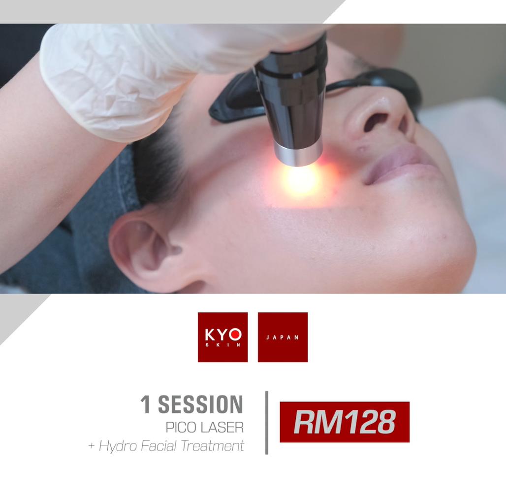 NEW CUSTOMER PROMO: Pico Laser + Hydro Facial Treatment