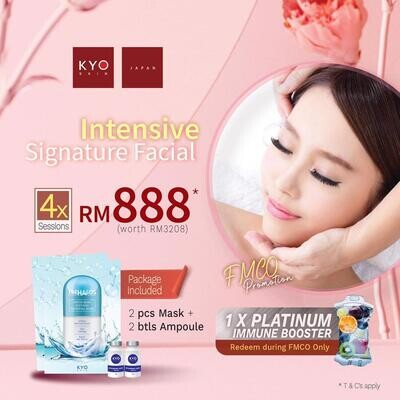 FMCO Promo - Intensive Signature Facial Treatment x 4 sessions