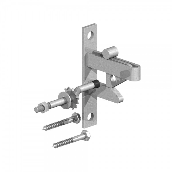 Field Gate Self Catching Latch