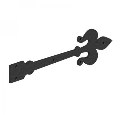 Classic Antique style False Hinge fronts 400mm matt black (Pair)
