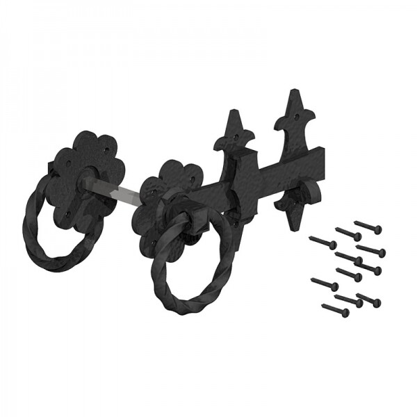 Classic Antique style Heavy Duty Ring Latch 200mm