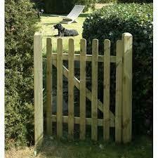 EAZEEY palisade gate