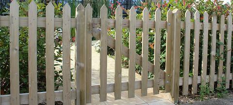 MIDSUMMER EAZEEY palisade gate