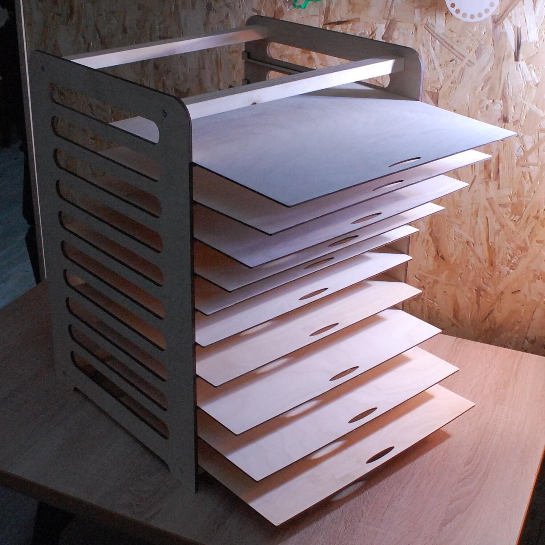Сушилка для пряников 10 полок 42х37 см